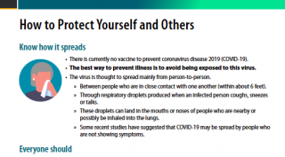 CDC - How to Protect Yourself and Others